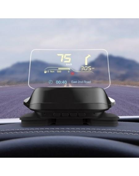 Intelligent HUD Car Head Up Display Bluetooth 4.0 Version OBD Driving Data