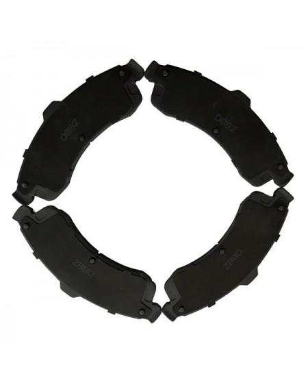 1 Set /4 Front 7759-d882 Ceramic Brake Pads