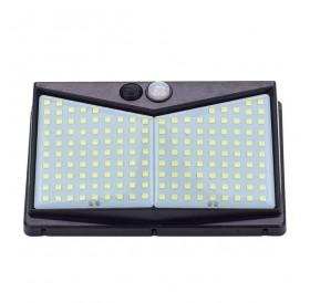 208 LED Solar Power Light PIR Motion Sensor Security Outdoor Garden Wall Lamp US