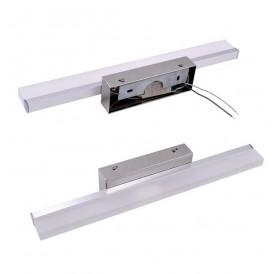 14W 100CM ZC001218 Bathroom Light Bar Silver White Light