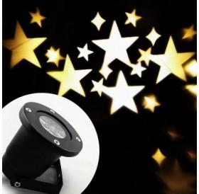 100 - 240V 4W LED Waterproof Star Light