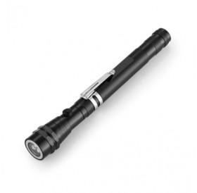 200Lm Telescopic Flexible Magnetic LED Flashlight